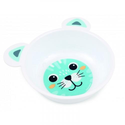 Canpol babies plastová miska s oušky HAPPY FACES