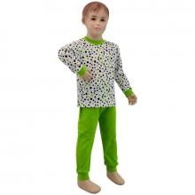 Esito Dětské pyžamo zelený puntík